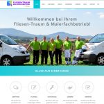 Fliesen-Traum & Malerfachbetrieb Marko Volkmar - Neue Website