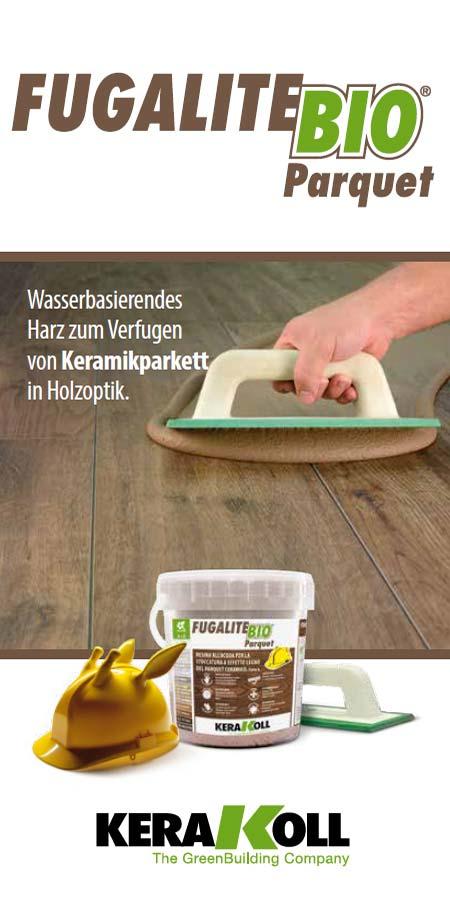 Fugalite®Bio Parquet von Kerakoll - Produktinformation
